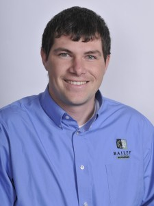 Andy Herting is now an outside sales representative. Photo: Bailey Nurseries