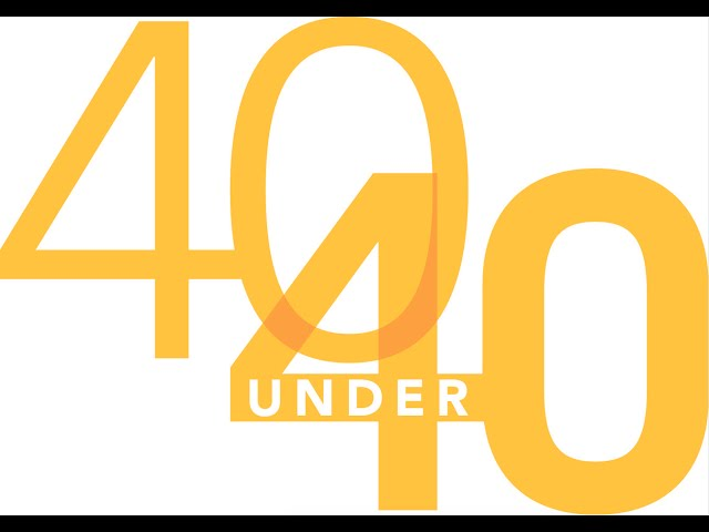 40 Under 40 Class of 2016