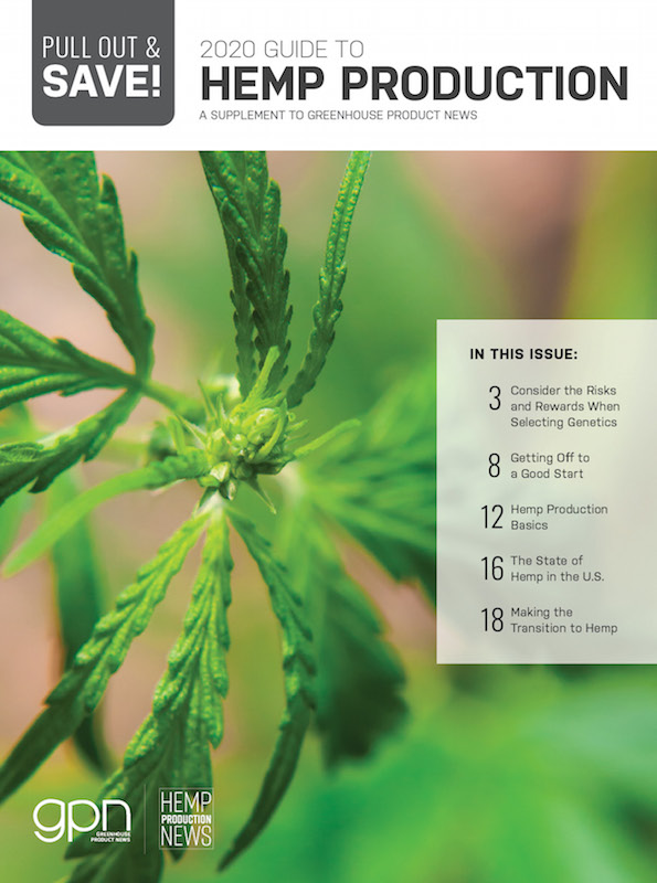 2020 Guide to Hemp Production cover